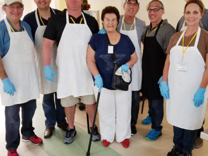 Broward District Members Learn and Serve during Day of Service