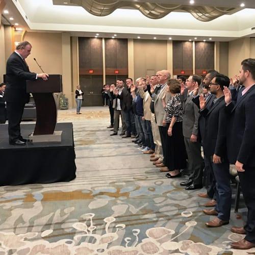 New CCIM Designees Being Sworn-in