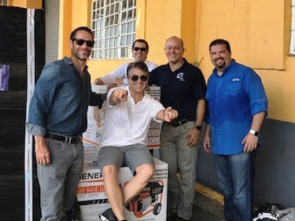 Florida CCIM Chapter Successfully Delivers PowerAide to Puerto Rico CCIM Chapter Members