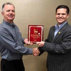 Rick Gonzalez, ALC, CCIM Named 2017 Florida Land REALTOR® of the Year