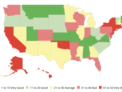Policy Study: Florida Ranks 40th in the Nation in Highway Performance and Cost-Effectiveness
